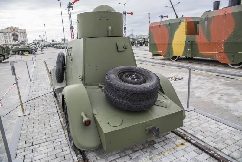 История. Бронеавтомобиль ФАИ-М-ЖД