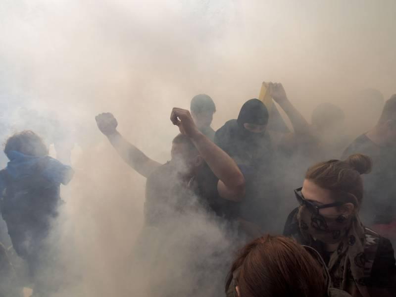 Атака на российских дипломатов в Киеве