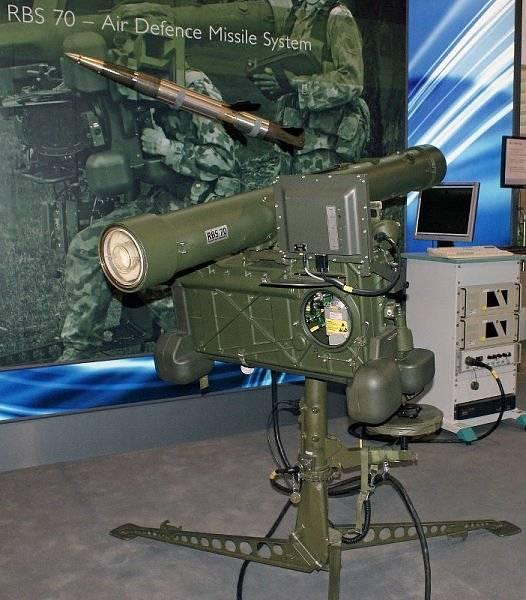 «Ручные» комплексы ПВО. Часть 4. ПЗРК Robotsystem 70