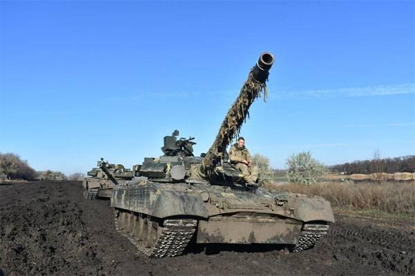 Новое обострение на Донбассе. Бронетехника ВСУ вошла в Золотое