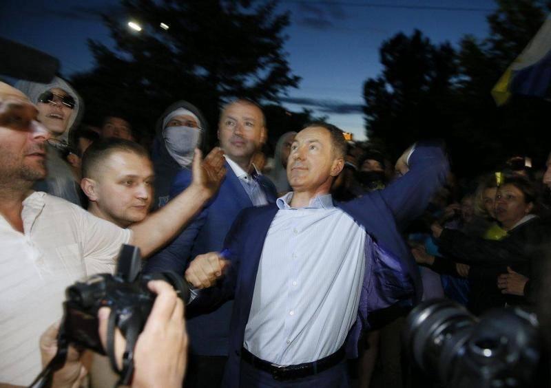 В Москве задержали экс-депутата Украины. За нападение на посольство РФ