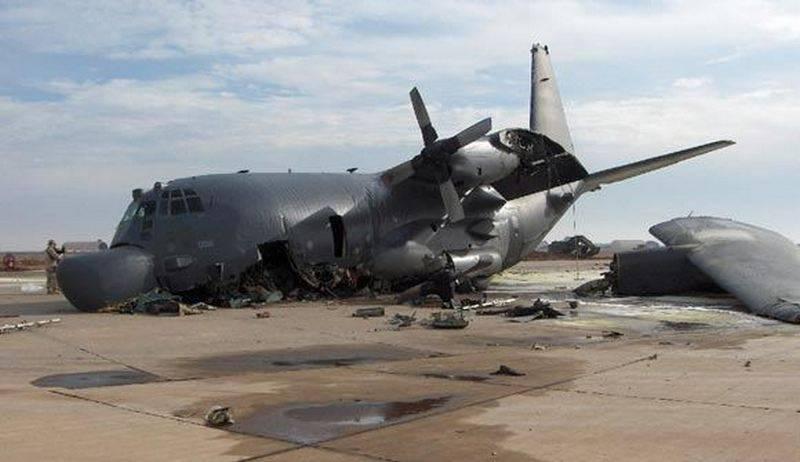 """В Афганистане разбился американский самолёт """"Геркулес"""". Есть жертвы"""