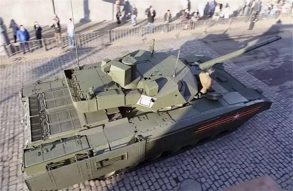 """Танкисты США раскритиковали танк Т-14 """"Армата"""""""