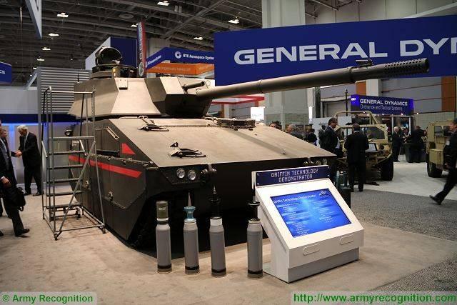 Перспективная боевая машина пехоты GDLS Griffin III (США)