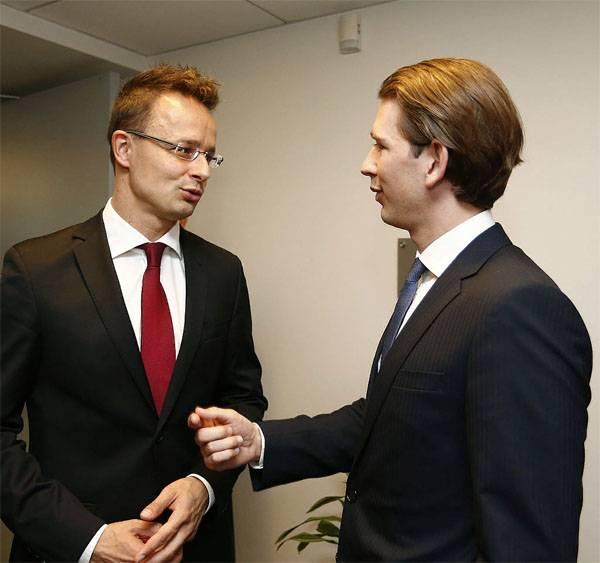 ЕС пробует утаить большой бизнес сРоссией— МИД Венгрии