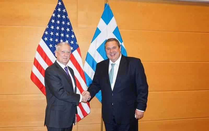 Греция укрепляет оборону при помощи  американских военных баз