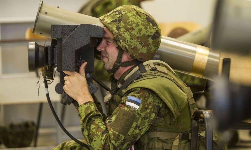 От кого обороняться будем? Эстония закупает противотанковые комплексы