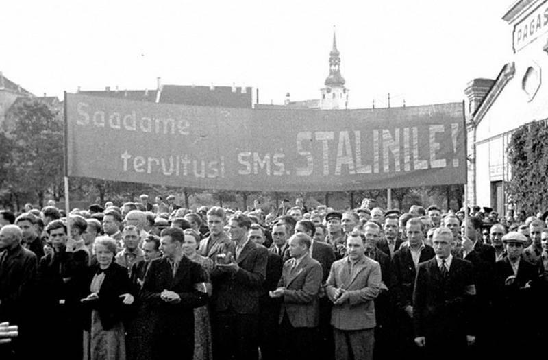 """Эстония: Компенсацию за """"ущерб от оккупации"""" будем требовать в любом случае"""