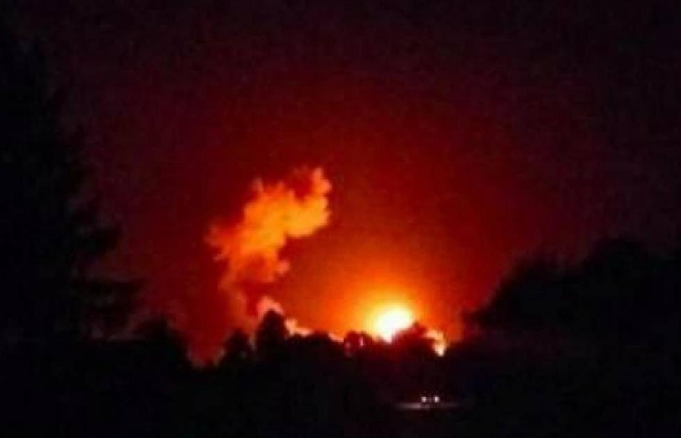 Вгосударстве Украина смеются с«российского следа» ввозгорании арсенала вИчне