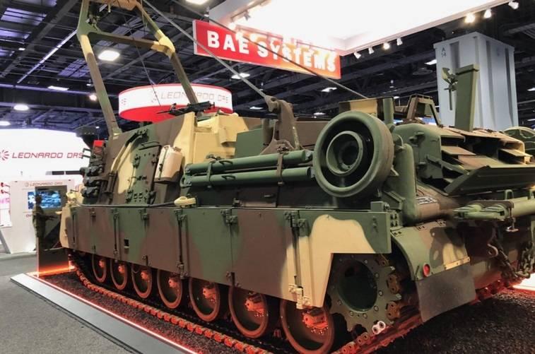 M88A3. Ремонтно-эвакуационная машина для потяжелевших танков