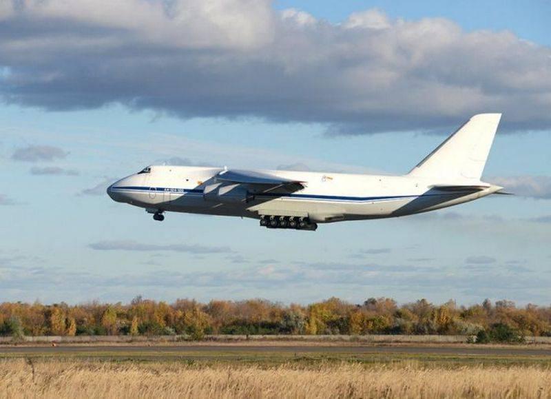 """Очередной Ан-124-100 """"Руслан"""" прошёл капитальный ремонт в Ульяновске"""