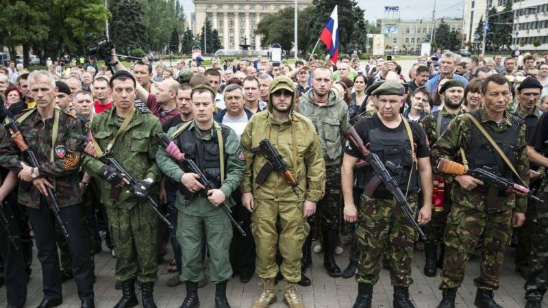 Les compétences opérationnelles et tactiques de la milice du sud-est de l'Ukraine. Se terminant