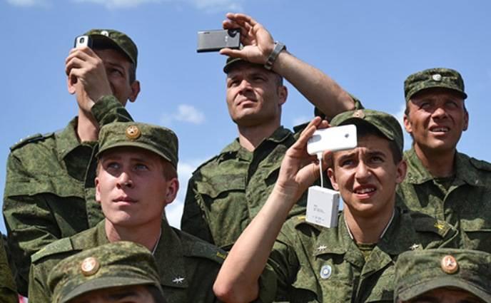 Военным запретят рассказывать о себе в интернете
