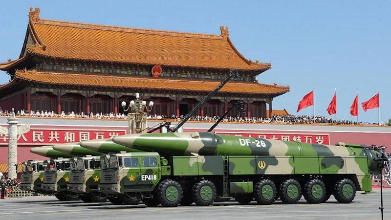 Баллистические противокорабельные ракеты Китая