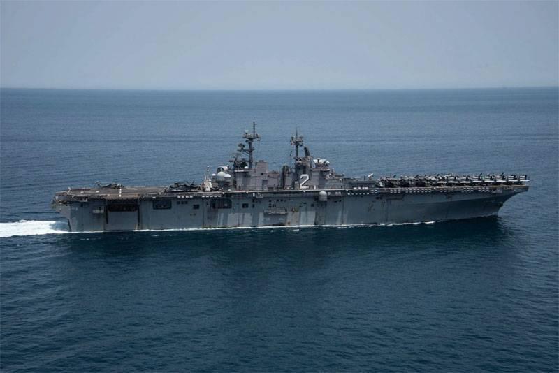УДК USS «Essex»: Нас преследовали иранские военные корабли