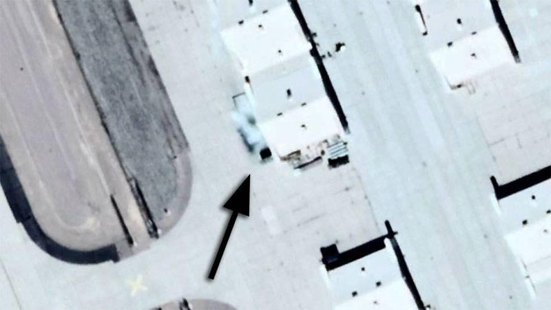 美国人在Tonopah试验场的照片中做了什么修饰?