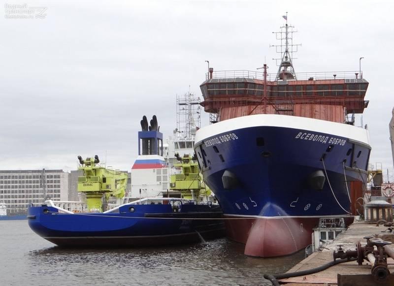"""GCC """"Northern Shipyard"""" completa la nave """"Vsevolod Bobrov"""". Quando in funzione?"""