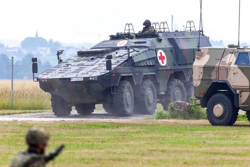 Основная часть  военной техники Германии не годна  к применению