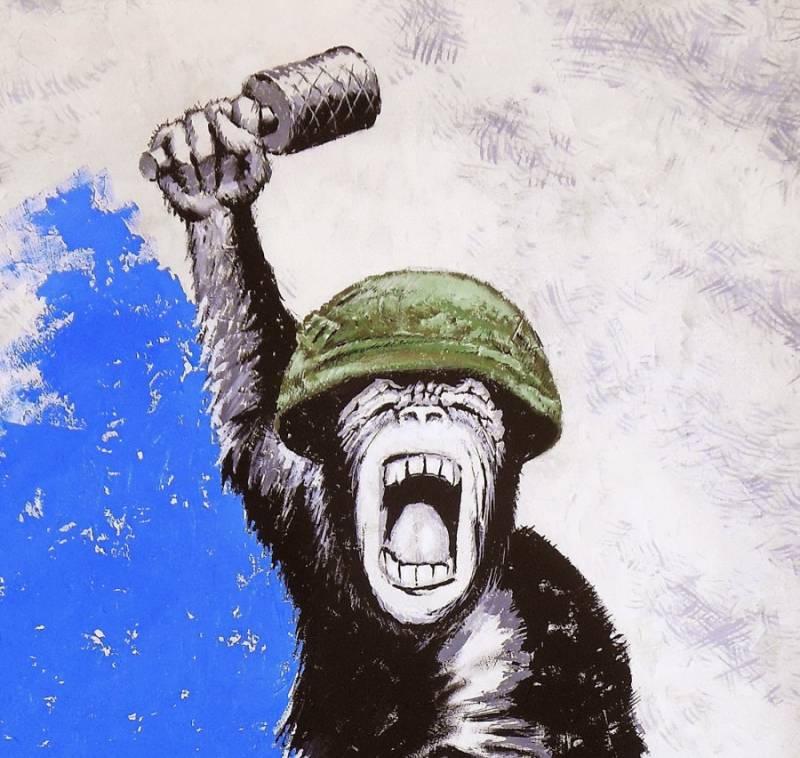 Тупой и ещё тупее: США включают эффект обезьяны с гранатой
