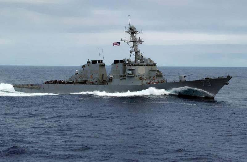 ВМС США решили продемонстрировать свою силу Китаю у границ России
