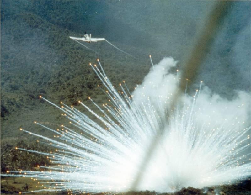 Оружие. Почему Пентагон не отказывается от фосфорных боеприпасов