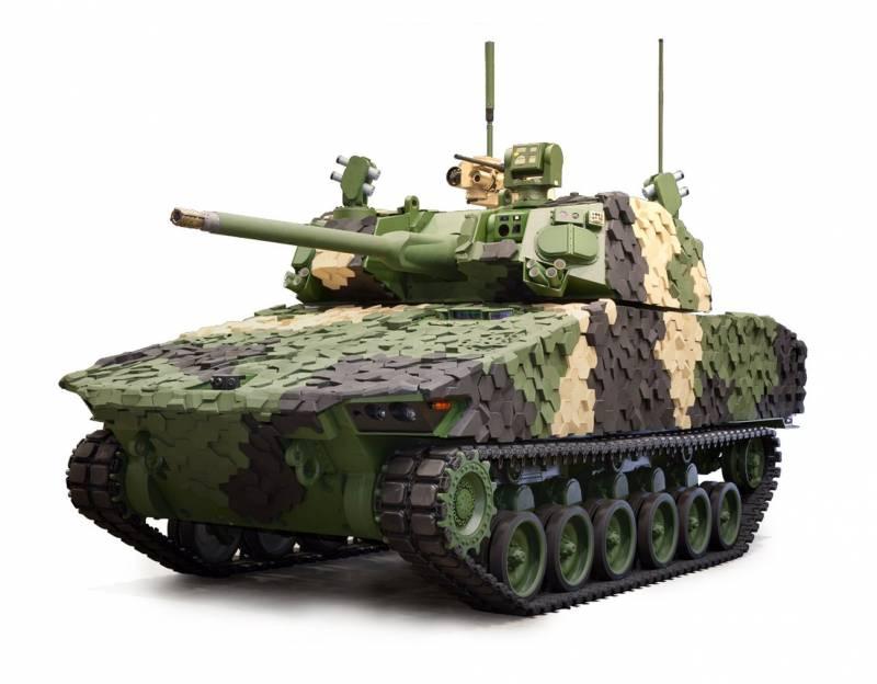 БМП. Перспективная боевая машина пехоты GDLS Griffin III (США)