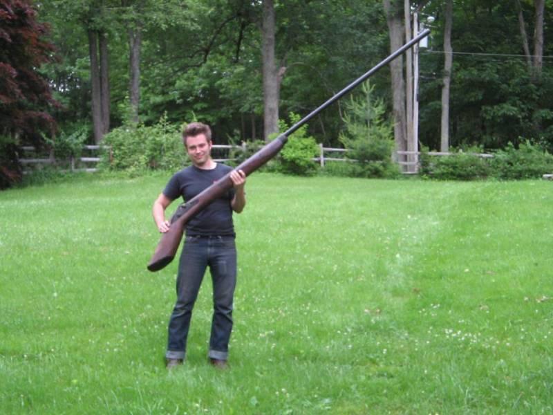 Оружие. ТОЗ-123. Царь-пушка для охотника