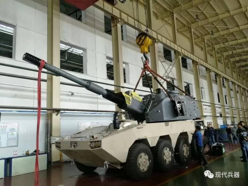САУ. Китайскаясамоходная артиллерийская установка NORINCO SH11