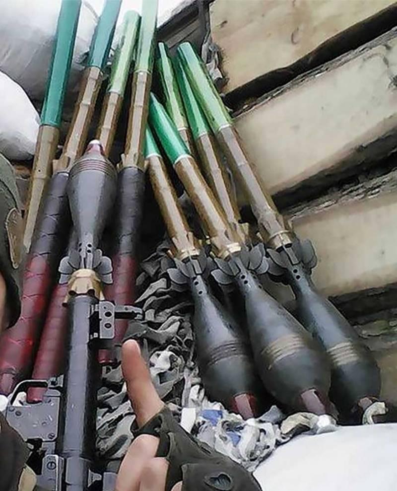 Семейство гранатомётов на основе РПГ-7