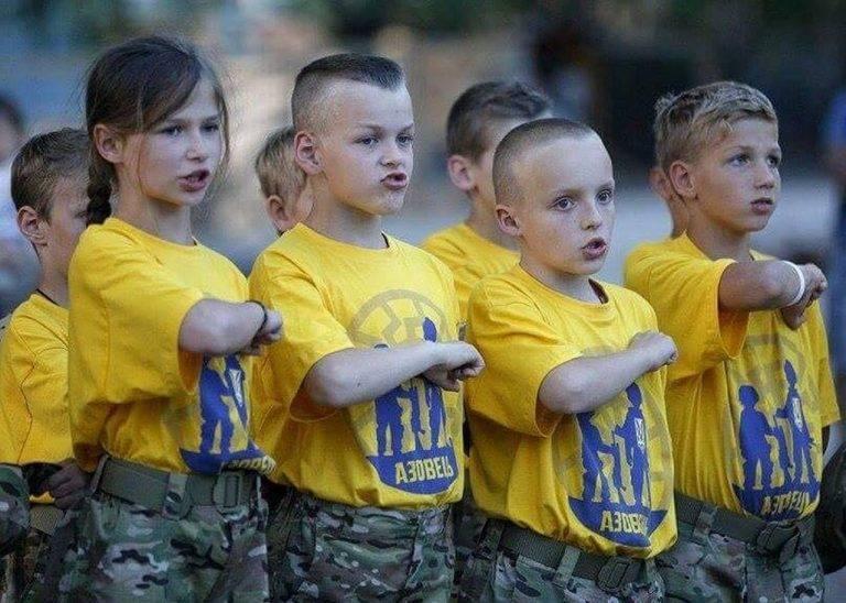 Русские дети для украинской армии