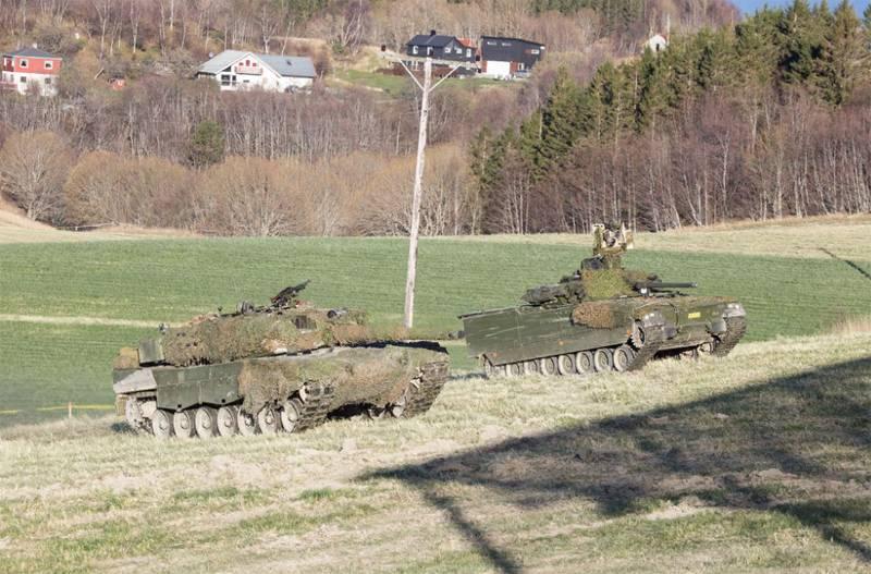 Танковый курьёз на учениях НАТО в Норвегии