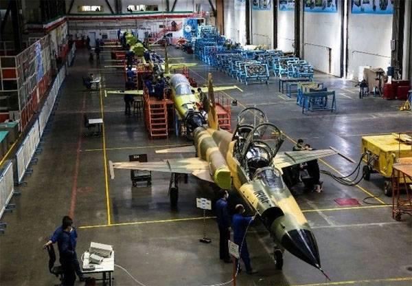 Иран начал массовое производство самолётов «Ковсар»