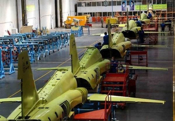 """Иранские заводы начали массовое производство истребителей """"Kowsar"""""""