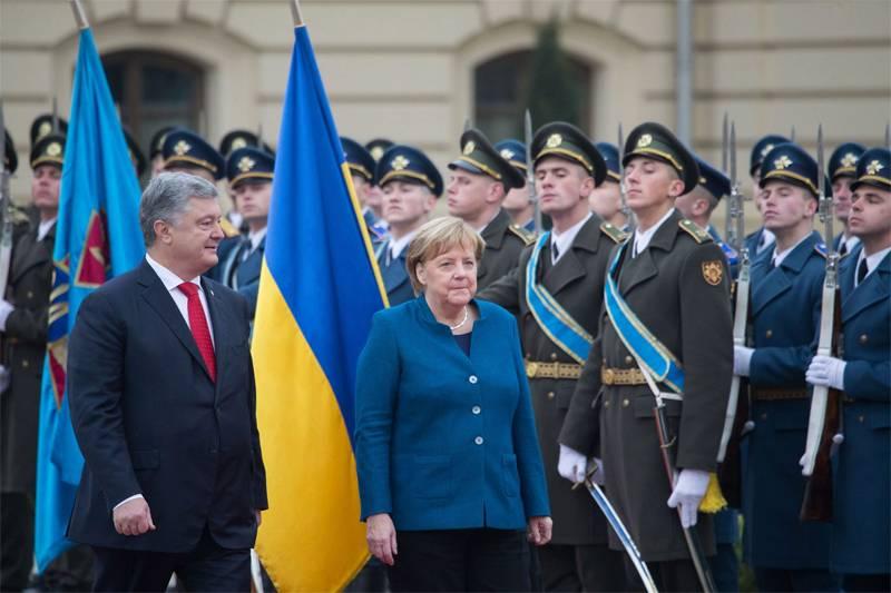 Депутат Рады считает, что впотере государством Украина Крыма виновата Меркель