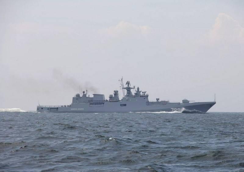 ВСредиземноморье отправился вооруженный «Калибрами» фрегат ВМФ