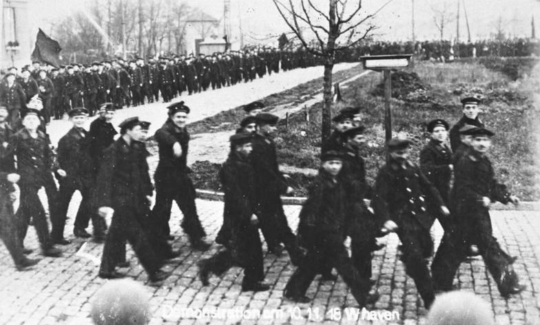 Novemberrevolution. Wie das Zweite Reich starb