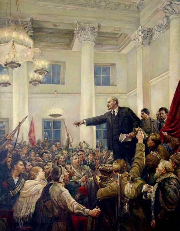 Большевики спасли Россию от гибели