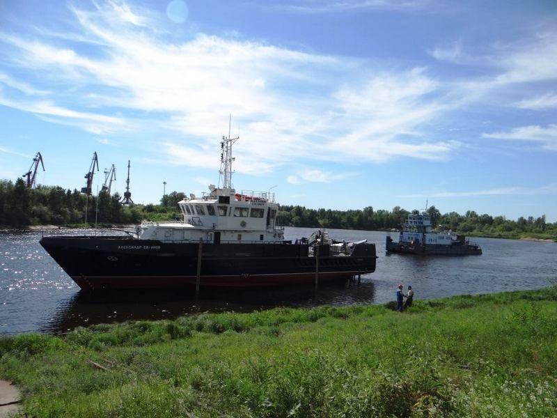"""BGKプロジェクト23040G """"Alexander Evlanov""""がテストのためにバルト海に到着"""