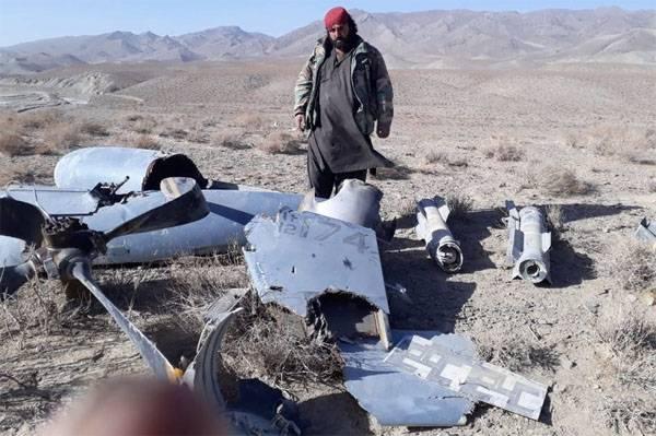 Талибы утверждают, что им удалось сбить американский MQ-9 Reaper