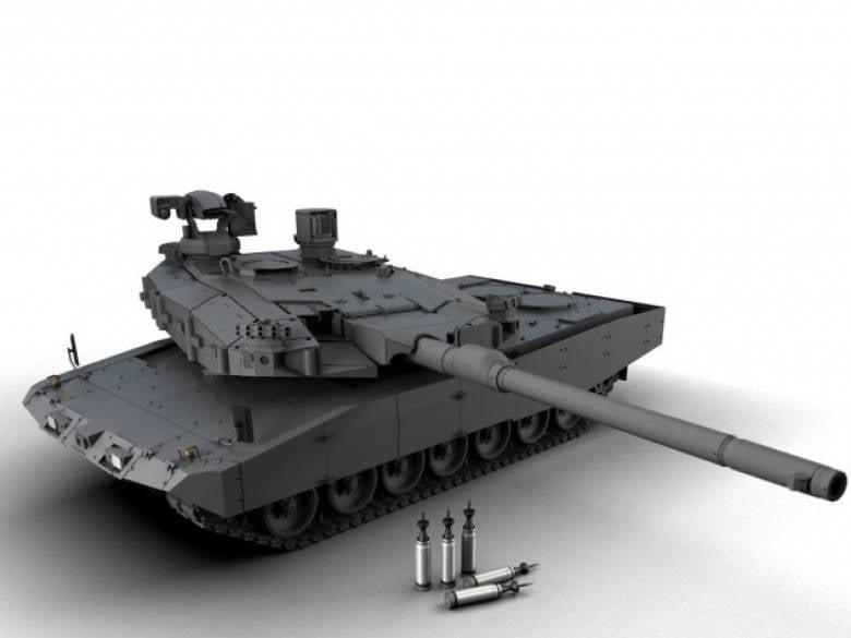 """KNDS主战斗系统:创建""""国际""""坦克的新尝试"""