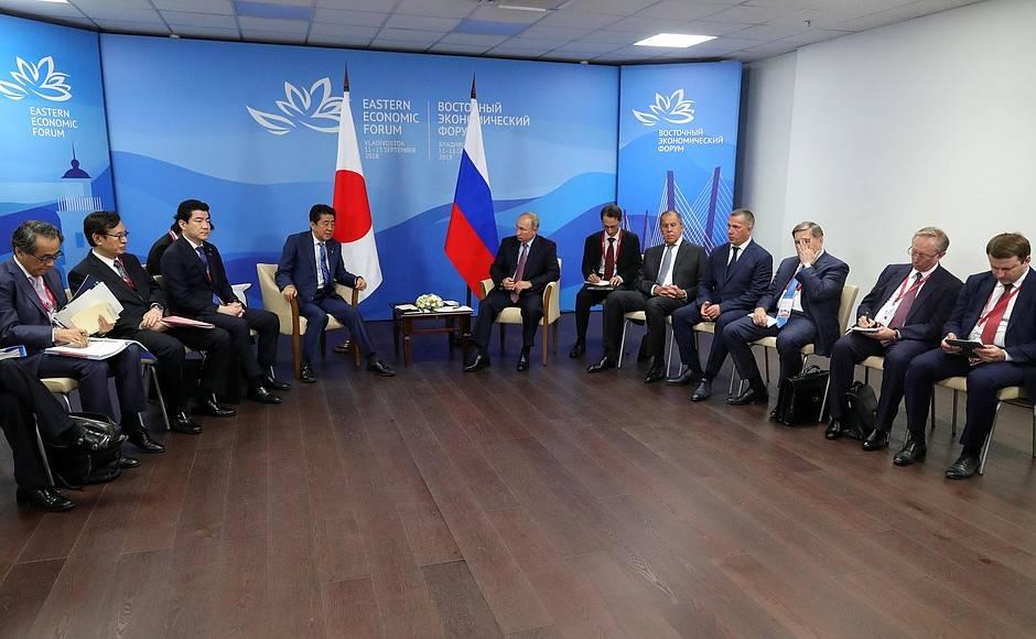 Япония решила договориться сРоссией повопросу Курильских островов
