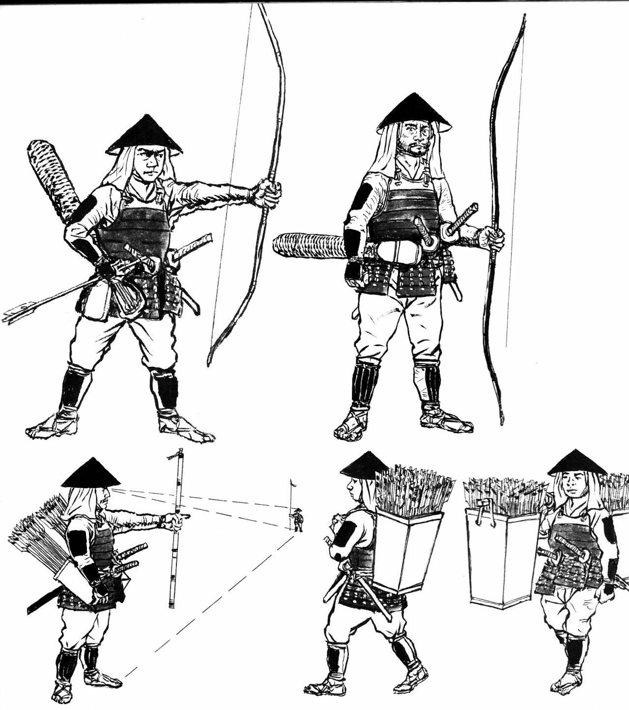 чертежи самурайских доспехов