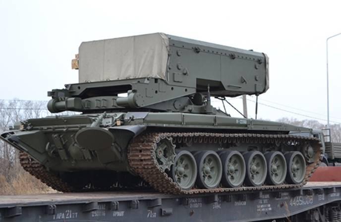В ЗВО сформировано подразделение огнемётных систем ТОС-1А