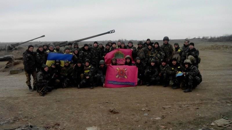 Артиллерия ВСУ в боевых действиях на Донбассе. Часть 1