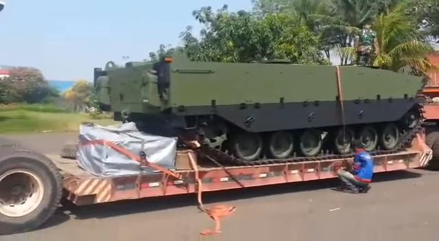Индонезия и Турция создают средний танк Harimau