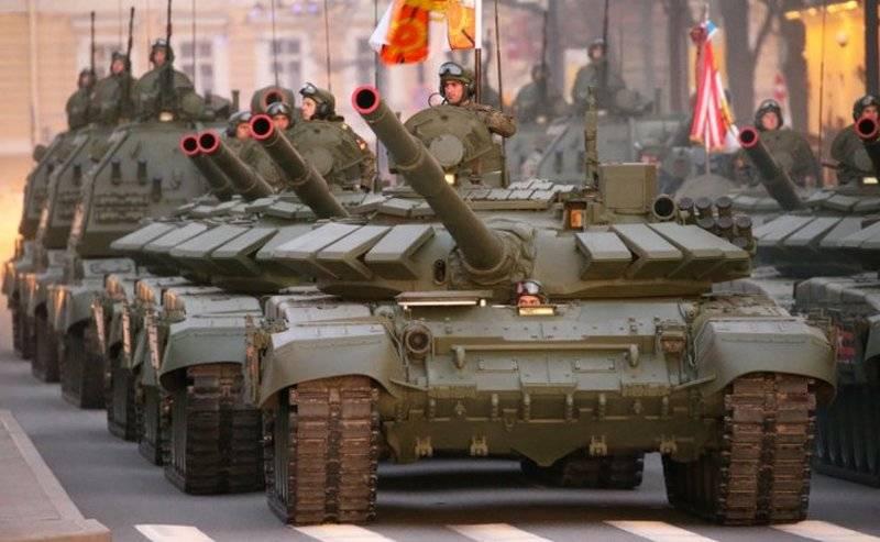 Российские Вооружённые силы пополнились новейшей техникой