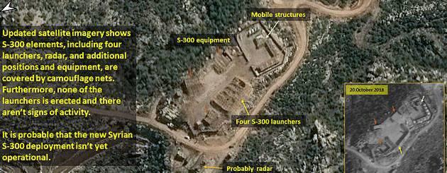 Израильские СМИ: ЗРК С-300 в Сирии всё ещё не развёрнуты