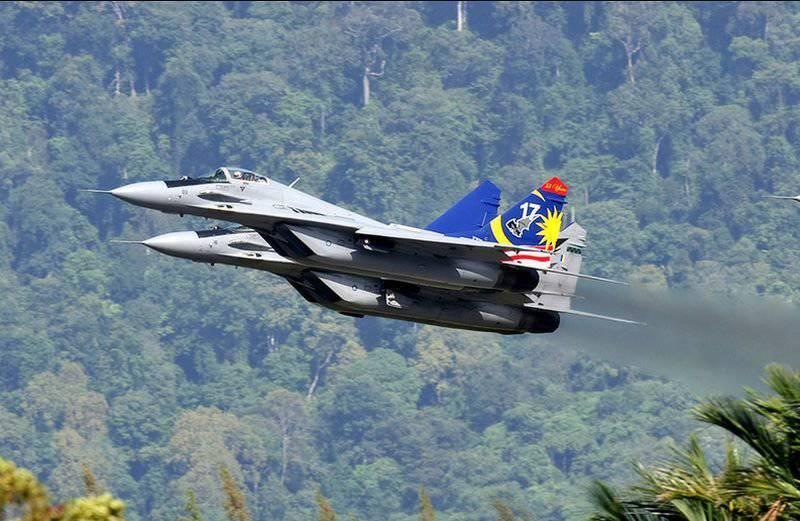 Малайзия опять пожаловалась на российские Су-30МКМ