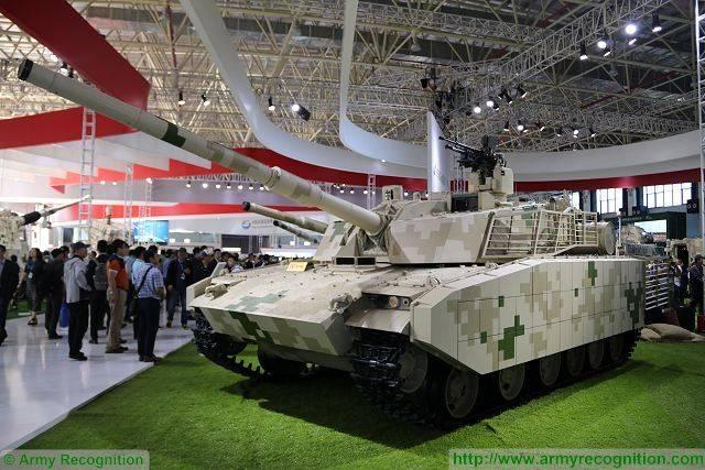 Китай представил обновлённый вариант лёгкого танка VT5