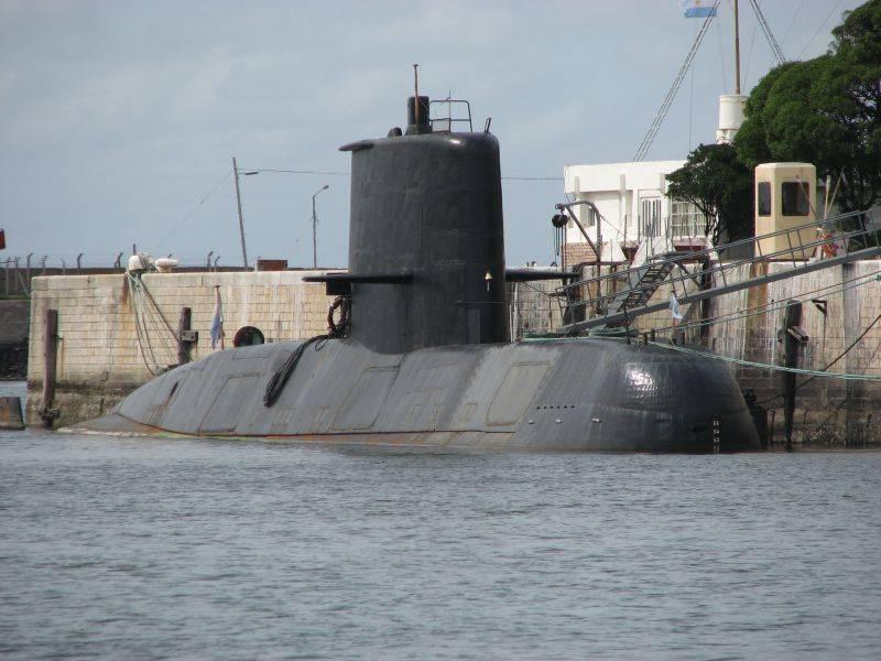 """В ВМС Аргентины заявили о возможном обнаружении подлодки """"Сан-Хуан"""""""